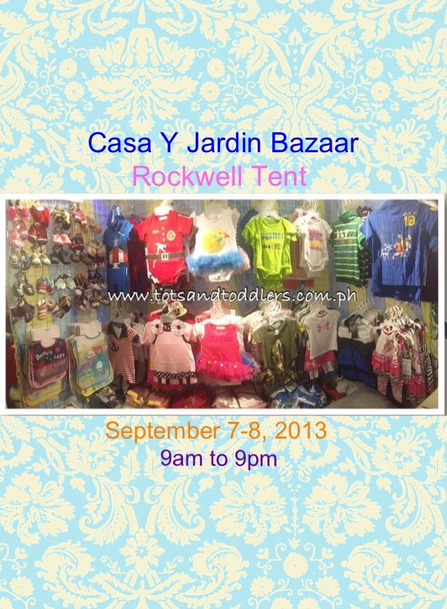 tots n toddlers joins the casa y jardin tots n toddlers ForCasa Y Jardin Bazaar 2013